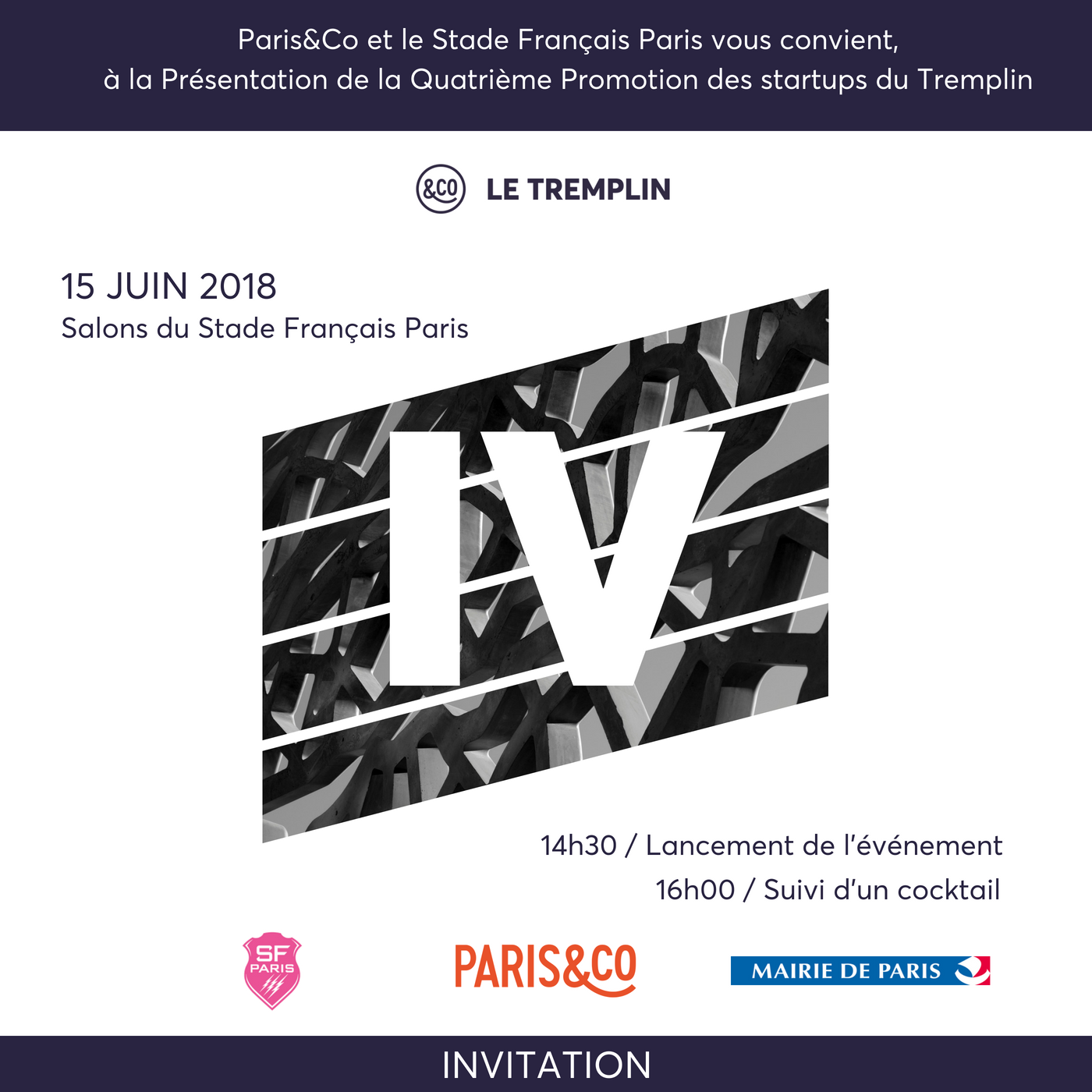 2018 05 31 Invitation   Le Tremplin