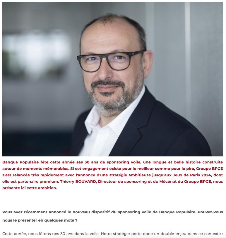 Thierry Bouvard nous parle de Banque Populaire