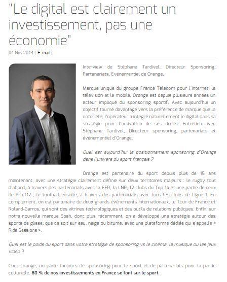 """""""Le digital est clairement un investissement, pas une économie"""""""