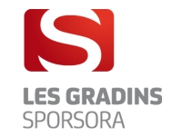 Gradin SPORSORA : Internationaux de France de badminton 2015