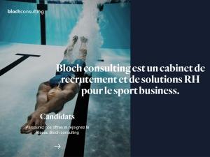 Bloch Consulting poursuit son développement avec de nouvelles offres, de nouveaux consultants et un nouveau site internet !