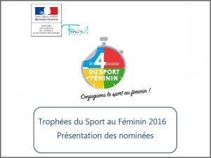 Trophées du Sport au Féminin 2016