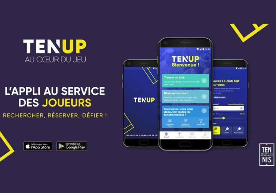 Ten'Up, la nouvelle application de la FFT