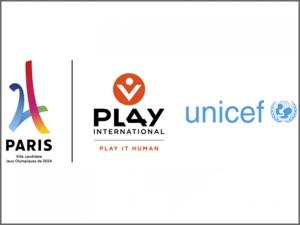 Paris 2024 s'associe à l'UNICEF et PLAY INTERNATIONAL