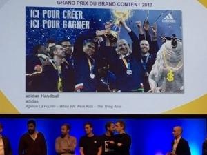 Adidas et La Fourmi, Grand Prix du Brand Content 2017