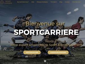 Sportcarrière lance un nouveau site