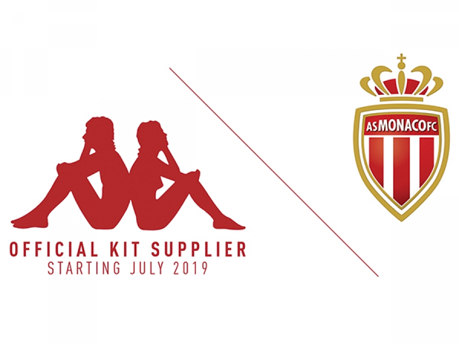 L'AS Monaco et Kappa annoncent leur collaboration