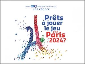 La FDJ se mobilise pour PARIS 2024
