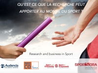 "Conférence Audencia ""Research and Business in Sport"""