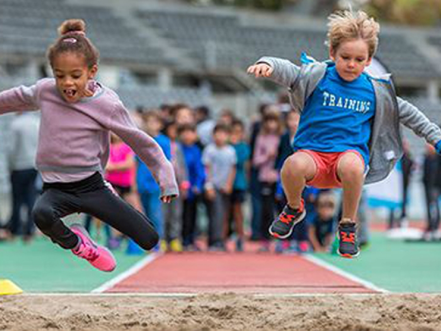 Inscriptions Kinder + Sport Athletics Day 2018