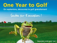 Journées Portes Ouvertes FFGolf : One Year to Golf