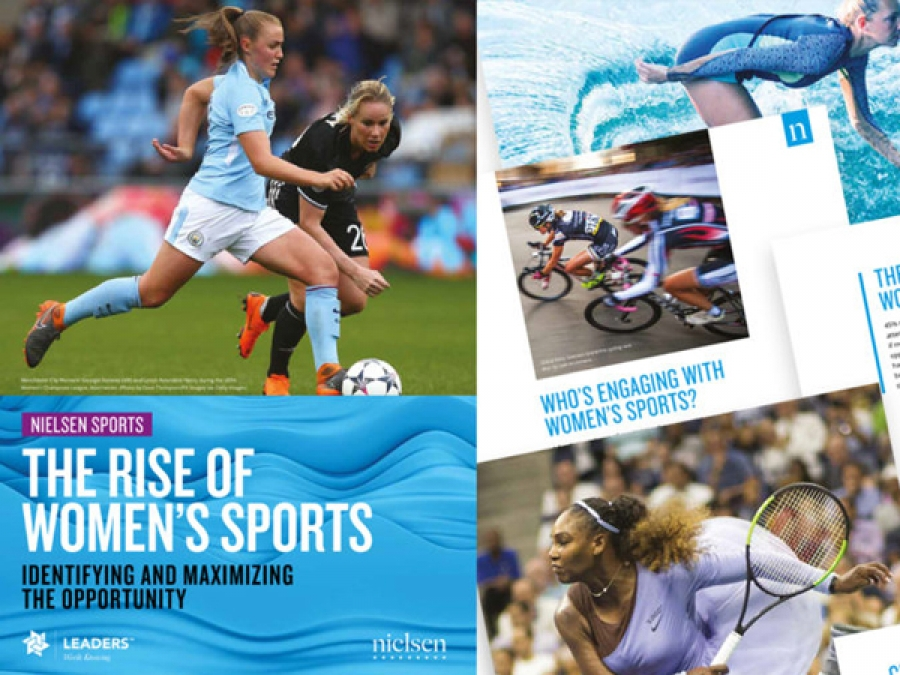 Nielsen Sports : the rise of Women's sports